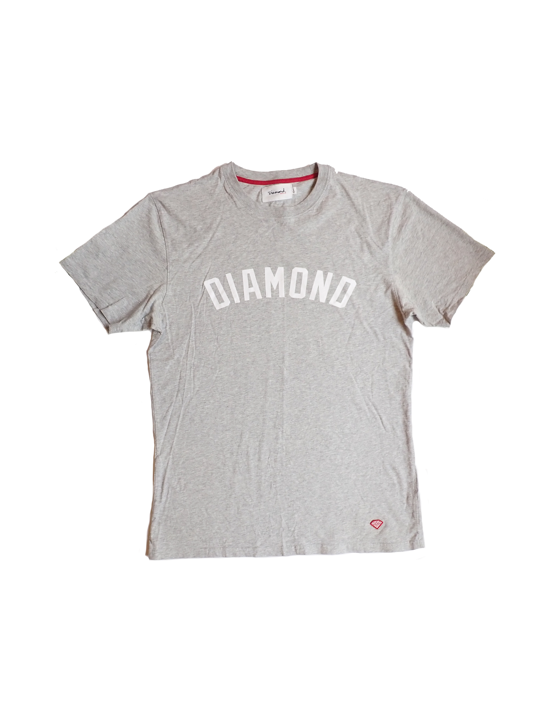 Diamond Supply Co Grey T Shirt
