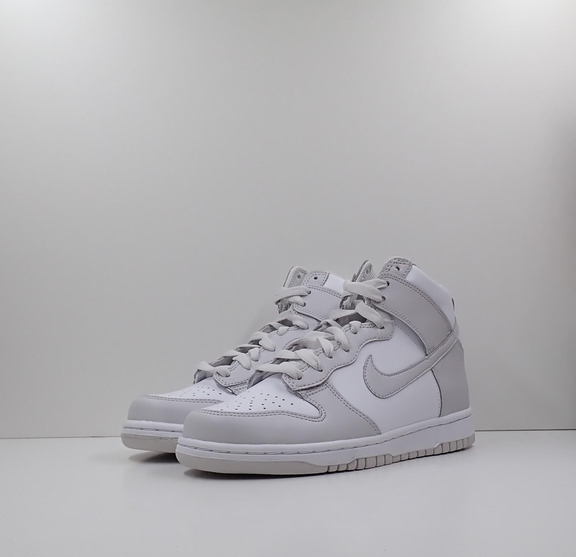 Nike Dunk High Retro White Vast Grey (GS)