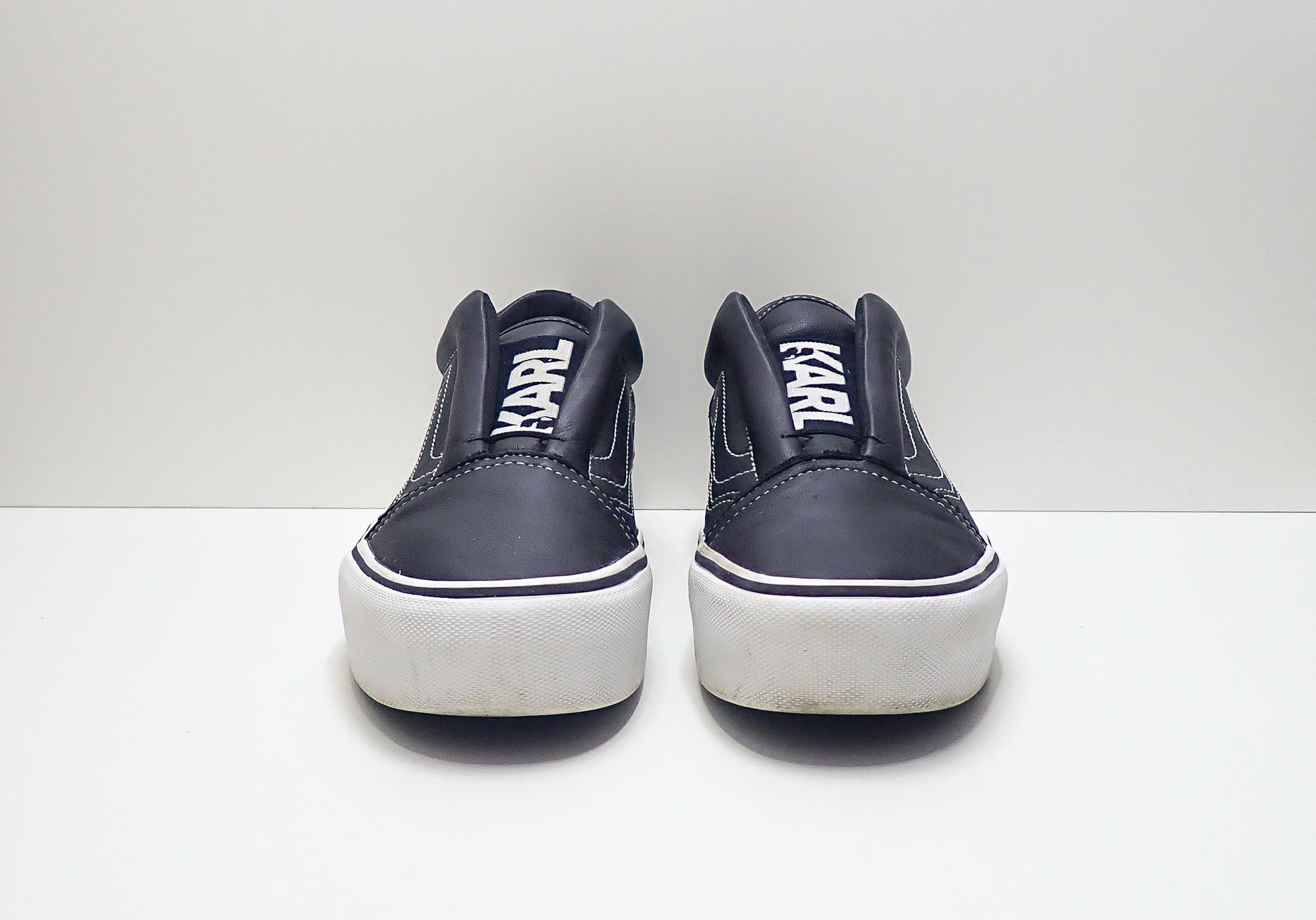 Vans Old Skool Platform Slip-on Karl Lagerfeld