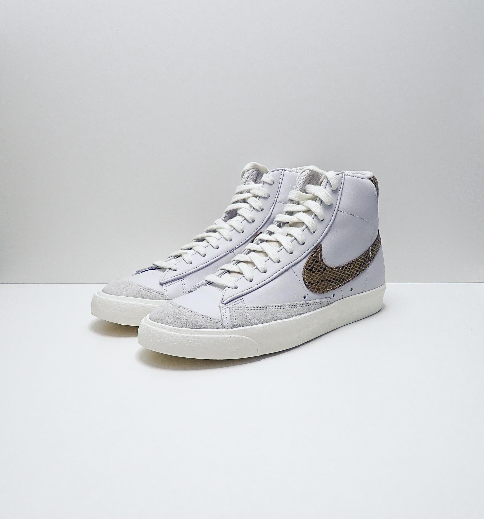 Nike Blazer Mid 77 Vintage White Snakeskin