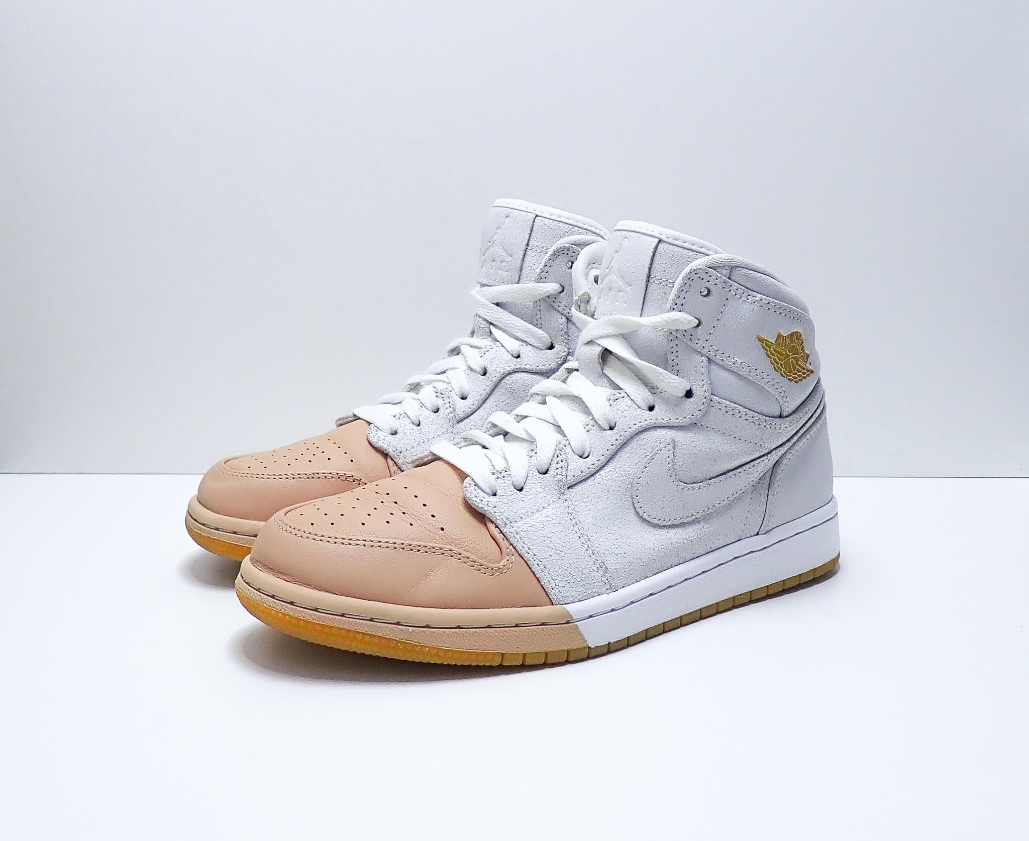 Jordan 1 W Retro High Dip-Toe White