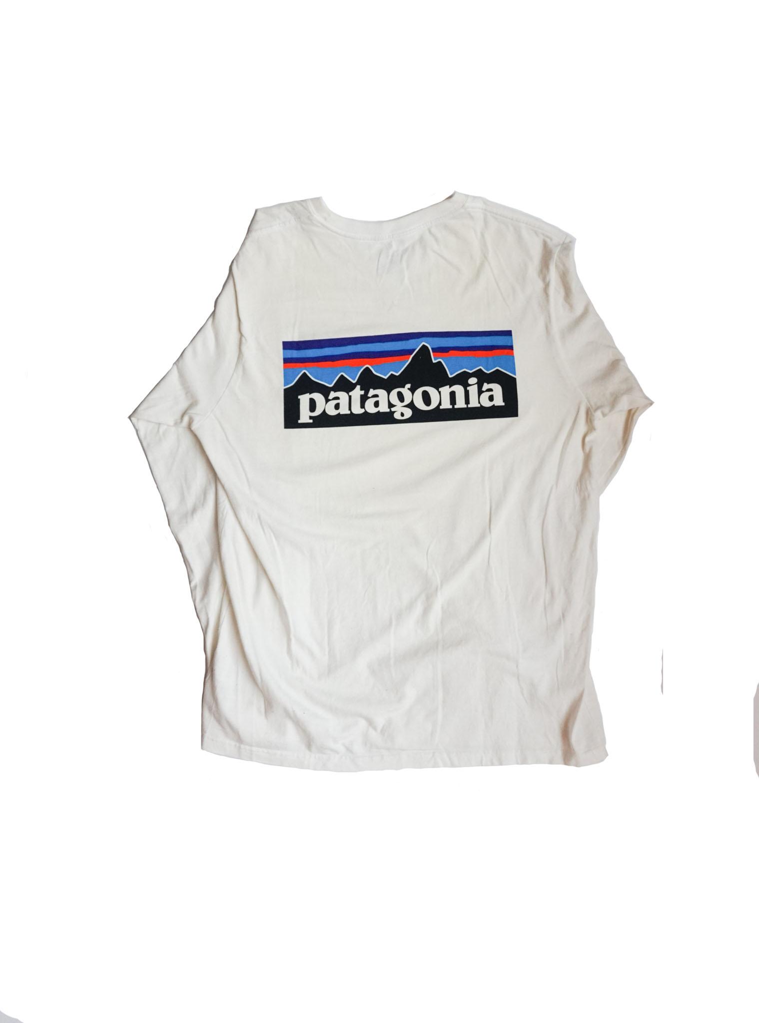 Patagonia Longsleeve Tee Sail