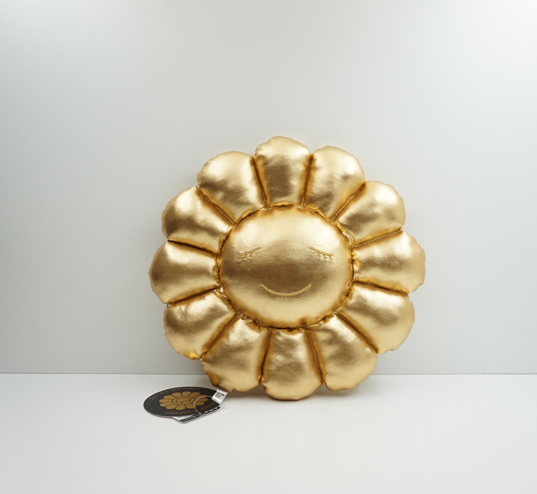 Takashi Murakami Gold Flower Plush 30 CM
