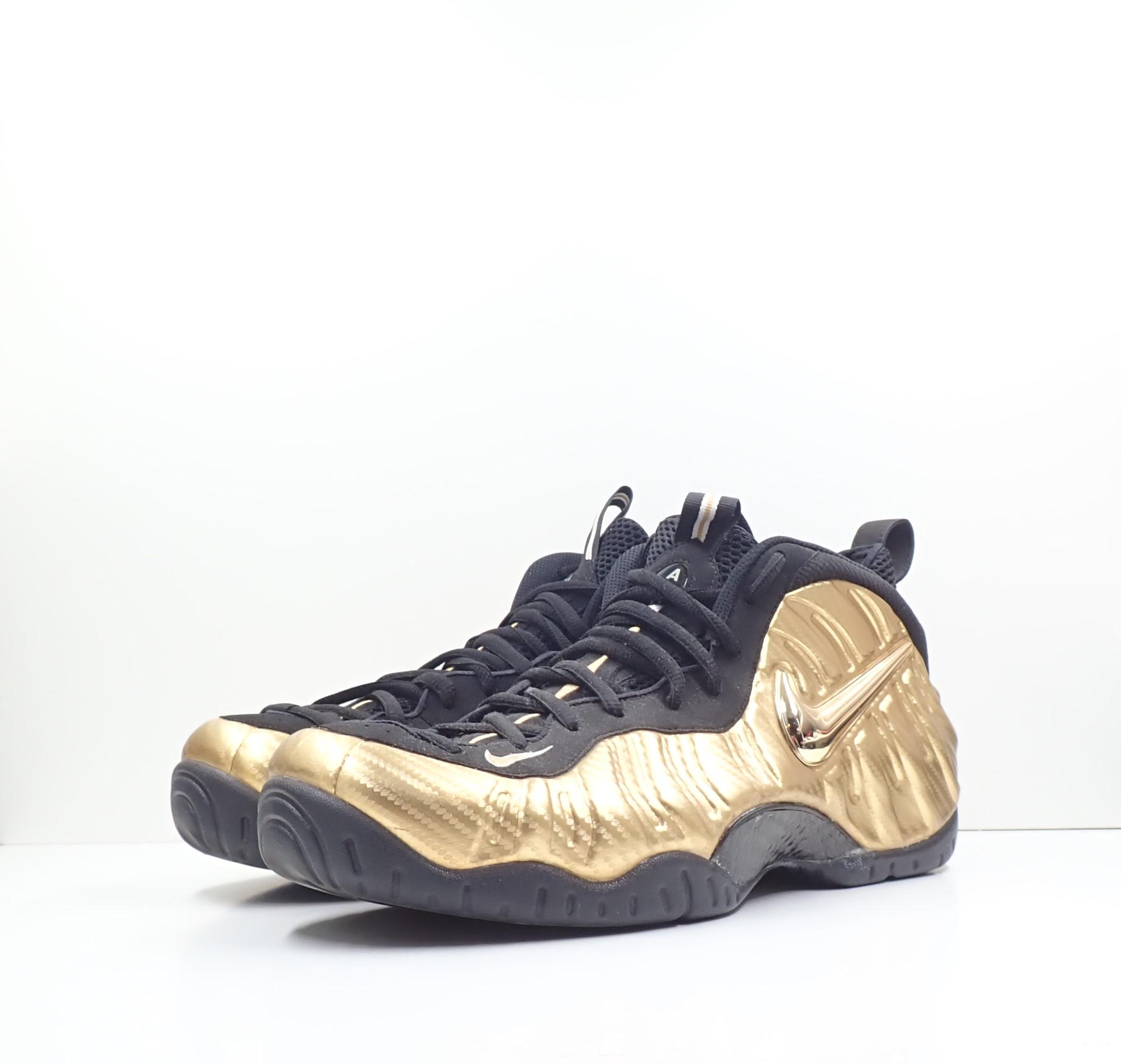Nike Air Foamposite Pro Metallic Gold