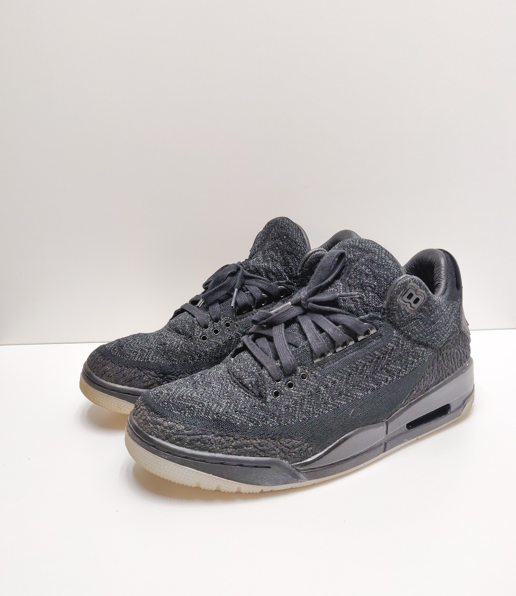 Jordan 3 Retro Flyknit Black