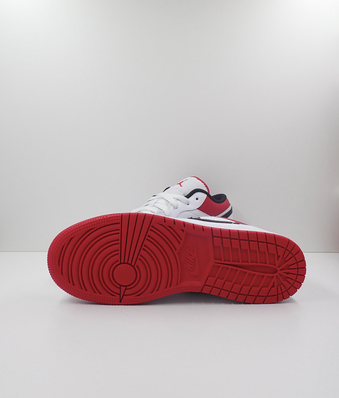 Jordan 1 Low White Red (GS)