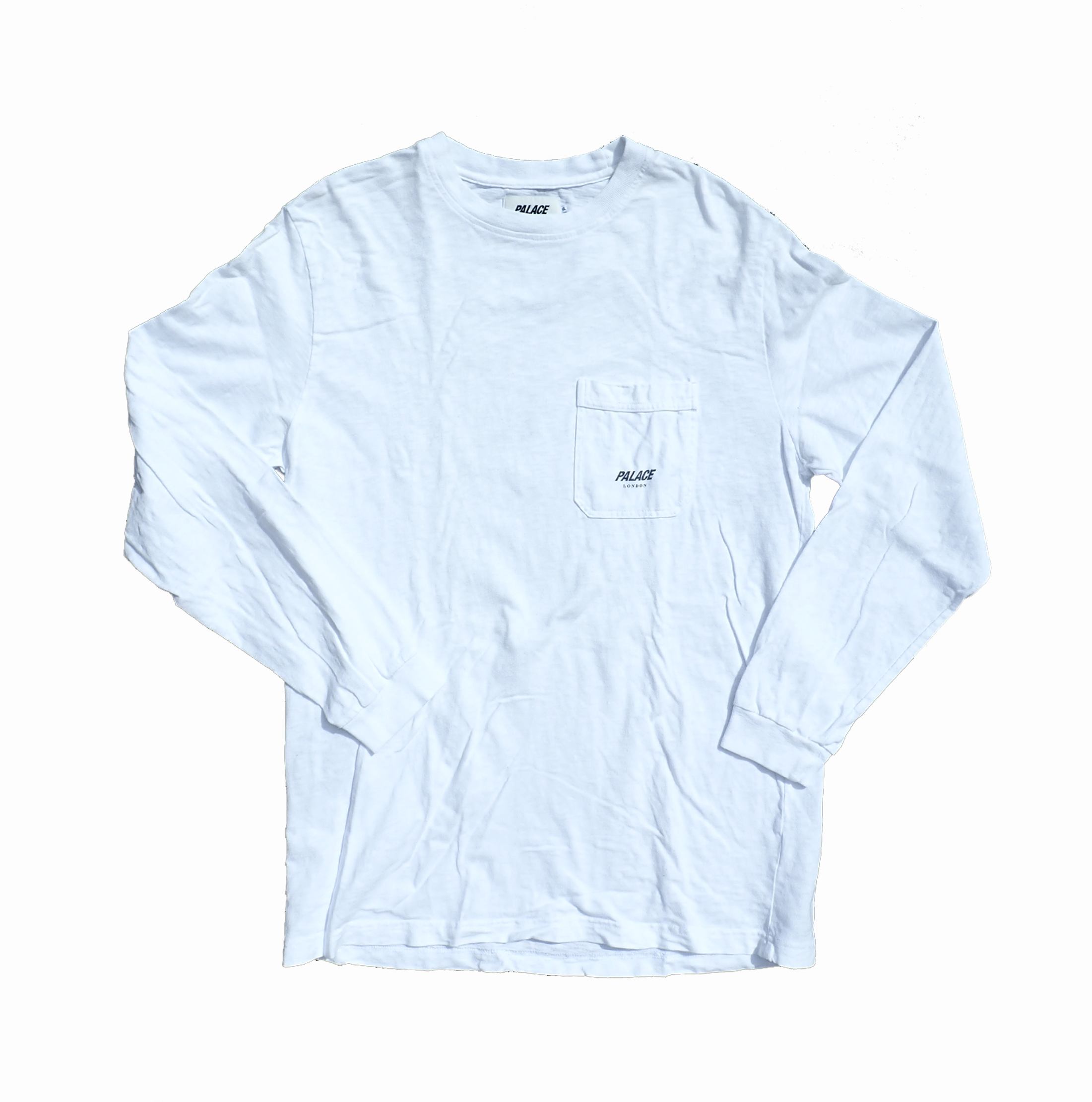 Palace London White Longsleeve T Shirt