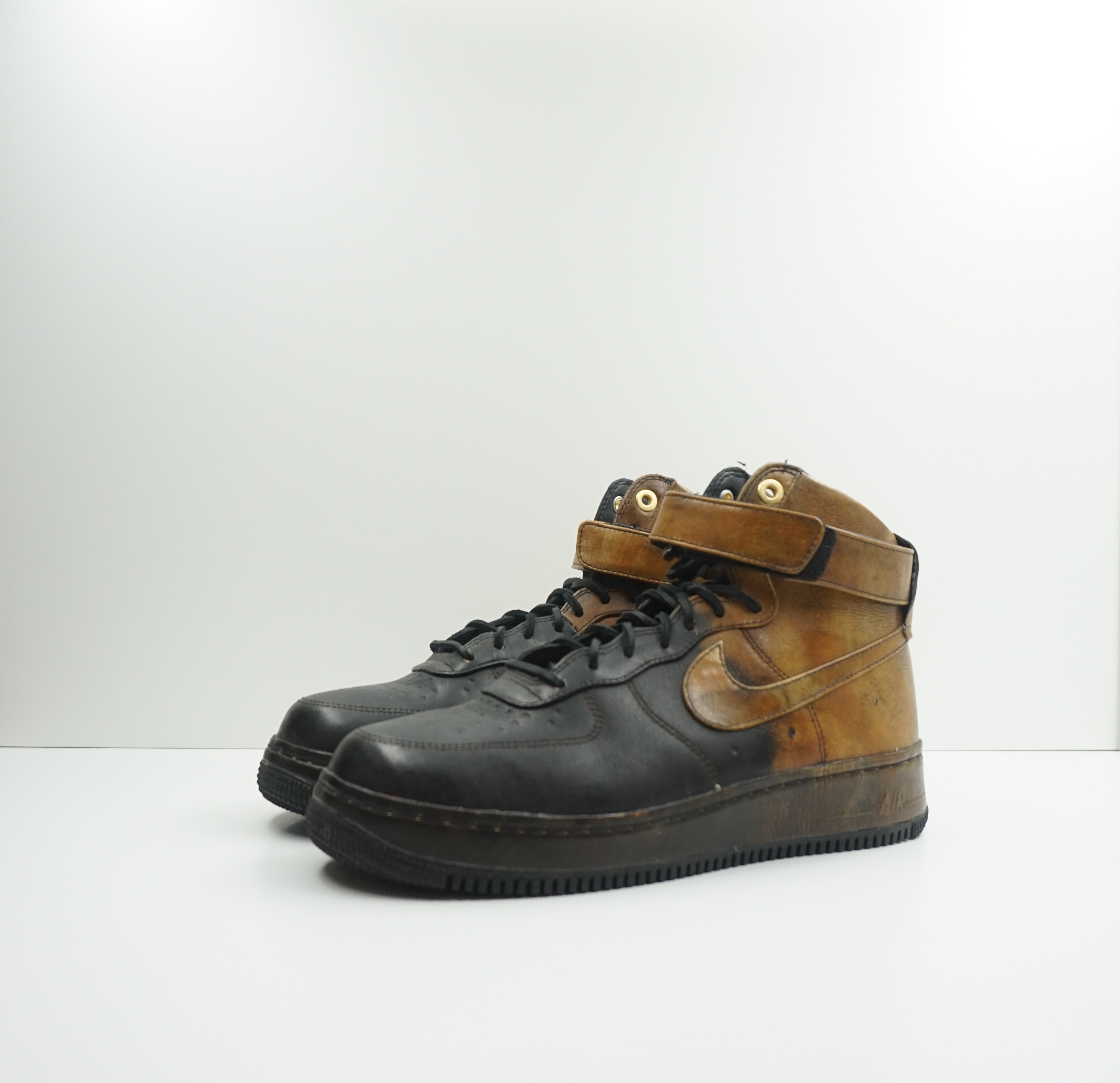 Nike Air Force 1 High Pigalle Black Gold