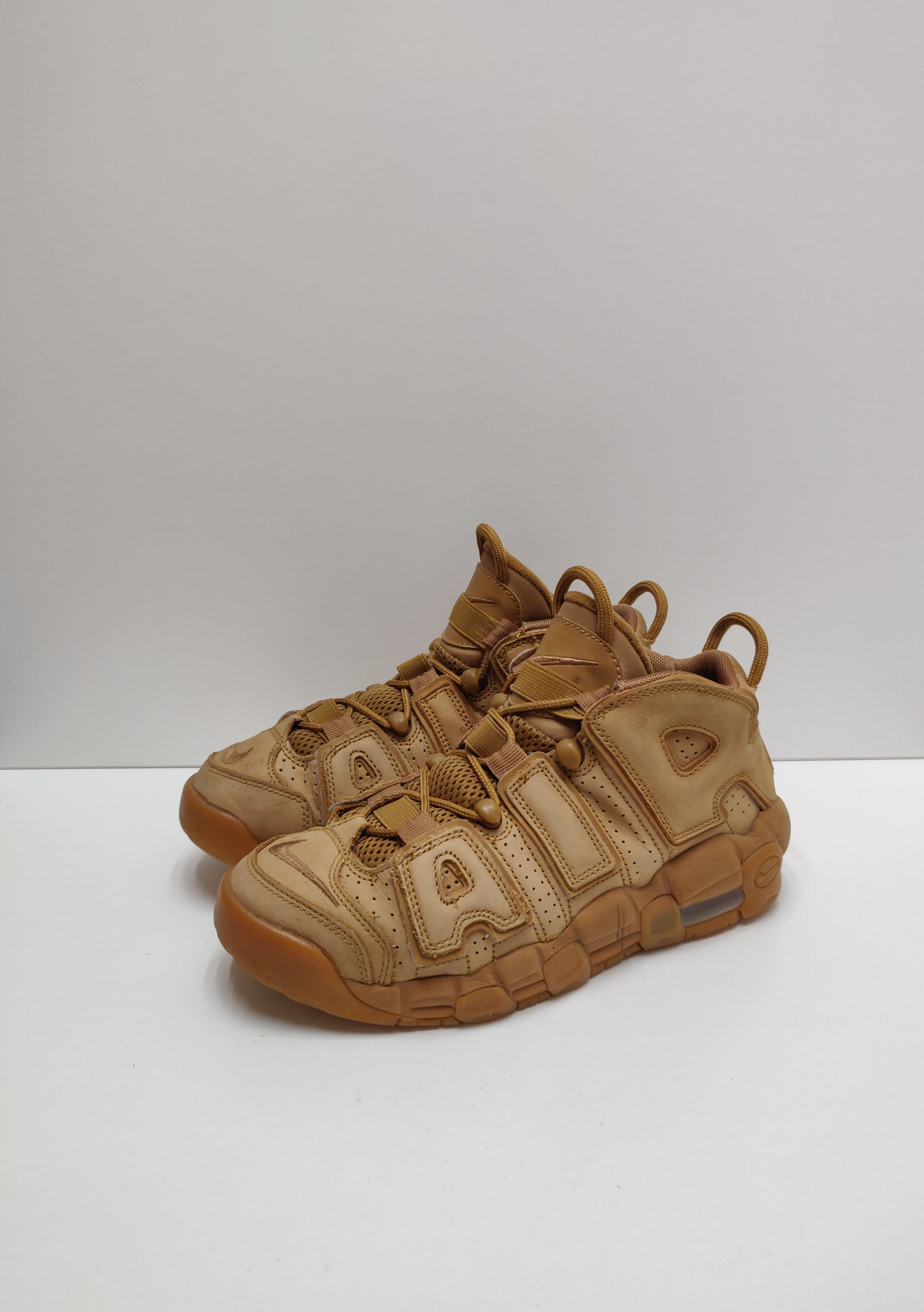 Nike Air More Uptempo Flax (GS)