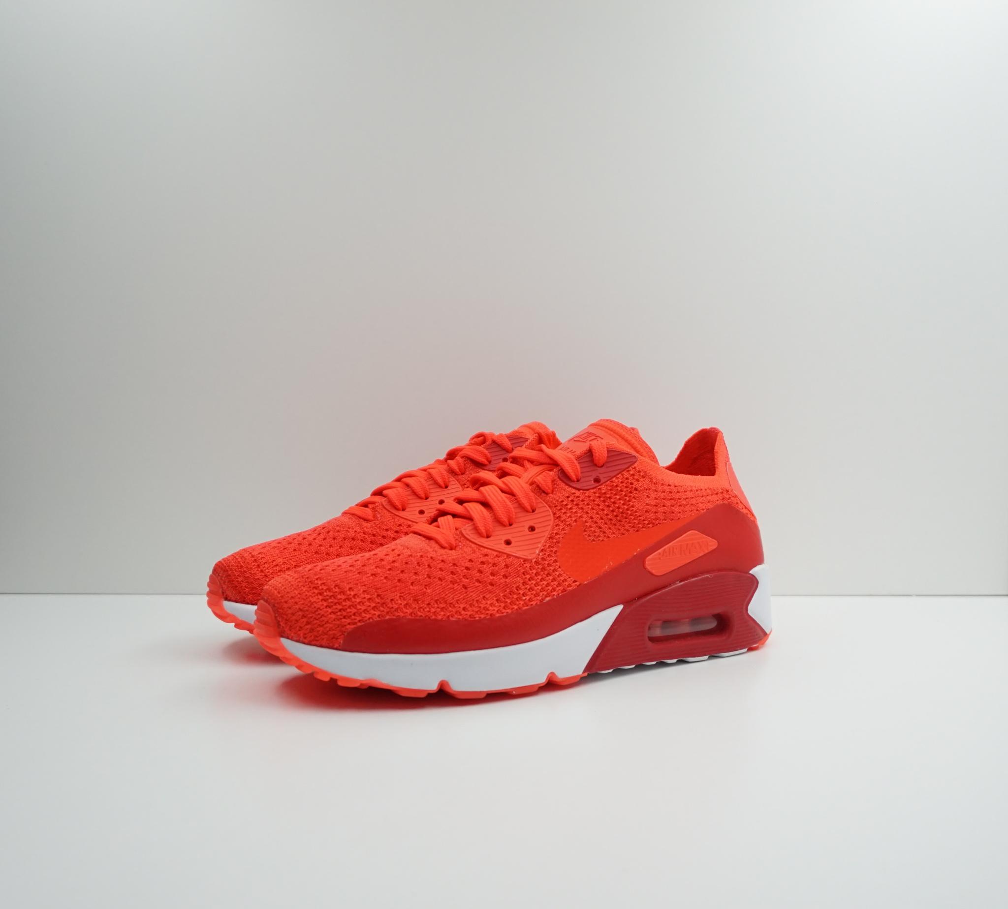 Nike Air Max 90 Ultra 2.0 Flyknit Bright Crimson