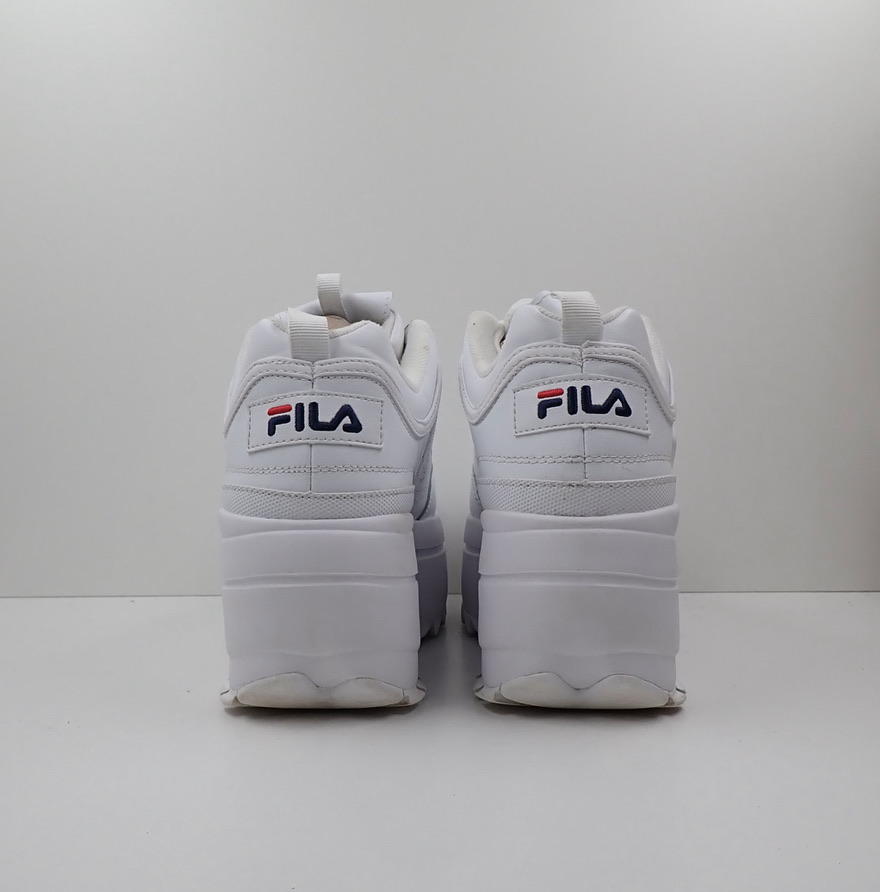 Fila Disruptor Platform White (W)