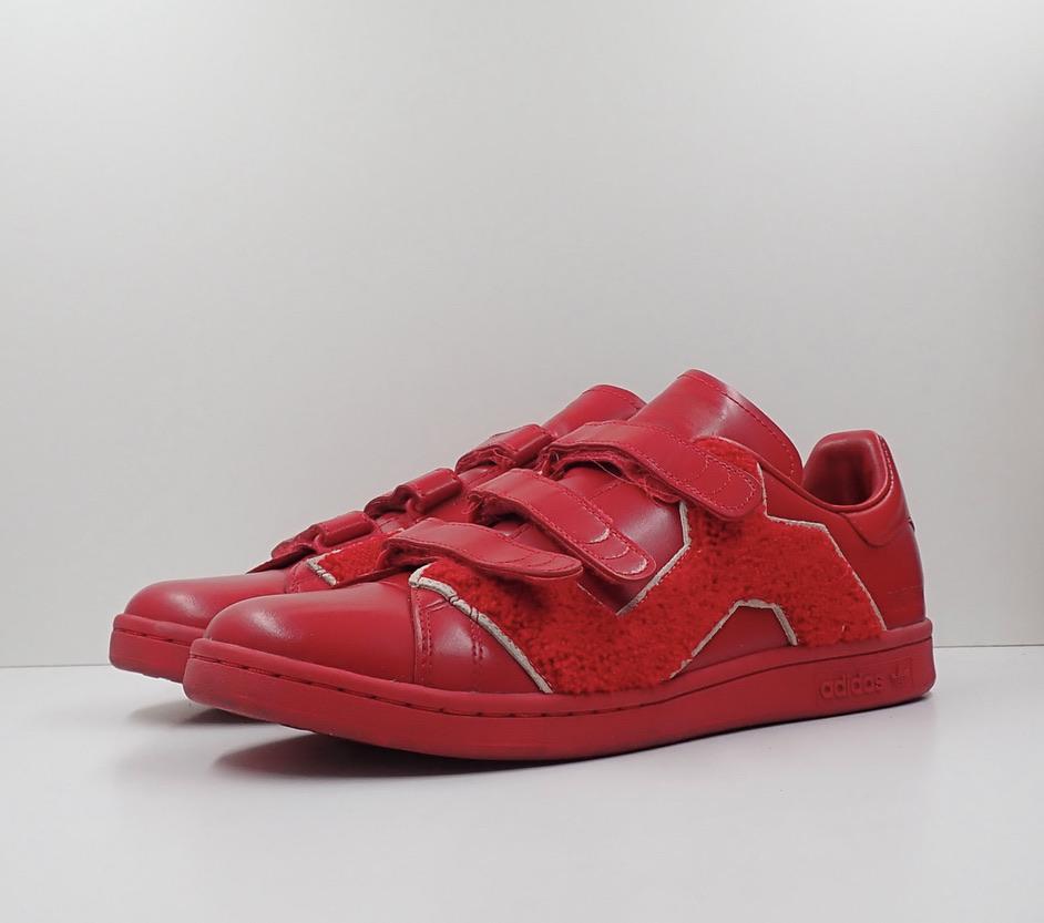 Adidas Stan Smith x Raf Simons Comfort Power Red