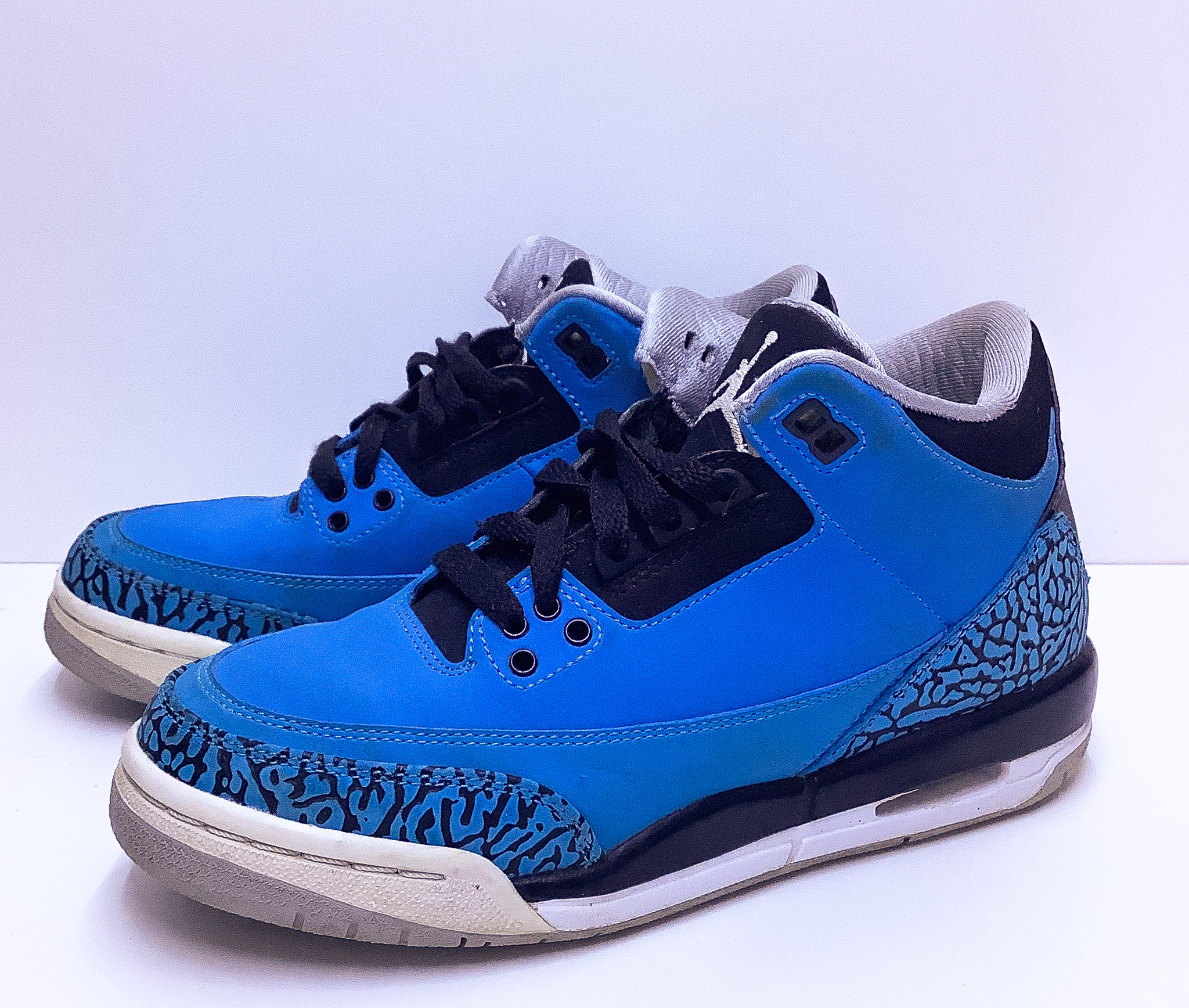 Jordan 3 Retro Powder Blue GS