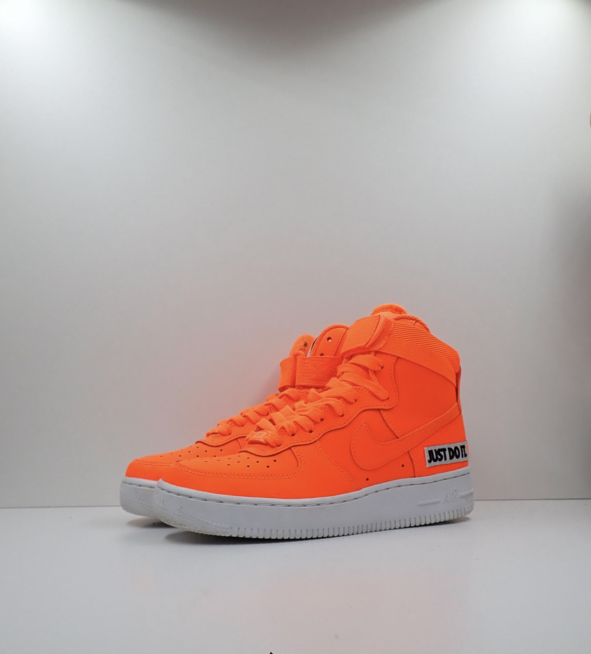 Wmns Air Force 1 High 'Just Do It' Orange