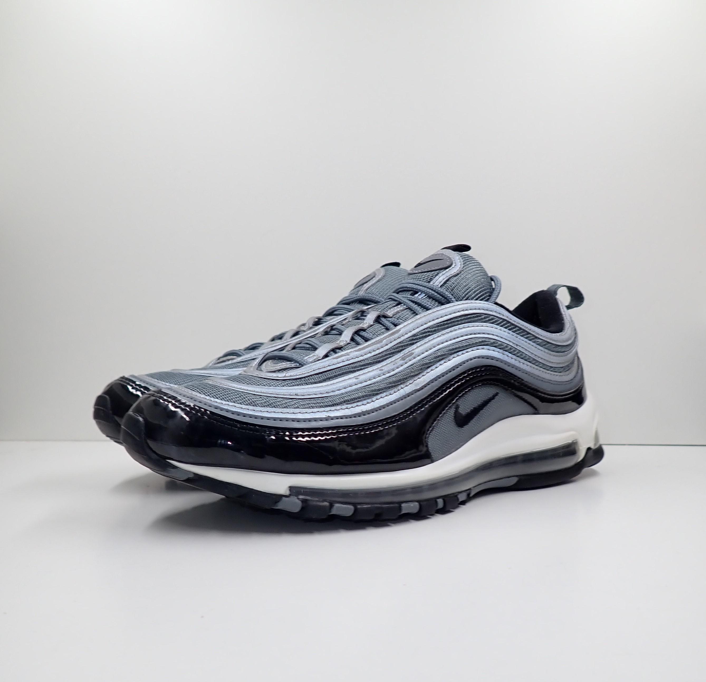 Nike Air Max 97 Cool Grey Black Patent