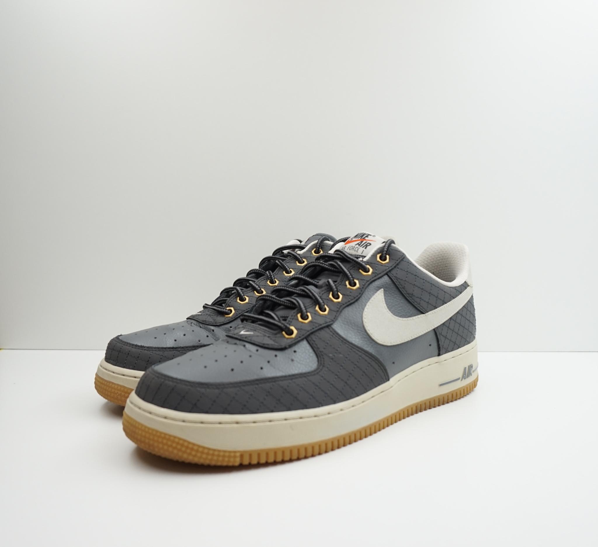 Nike Air Force 1 Low Dark Grey Light Bone Gum