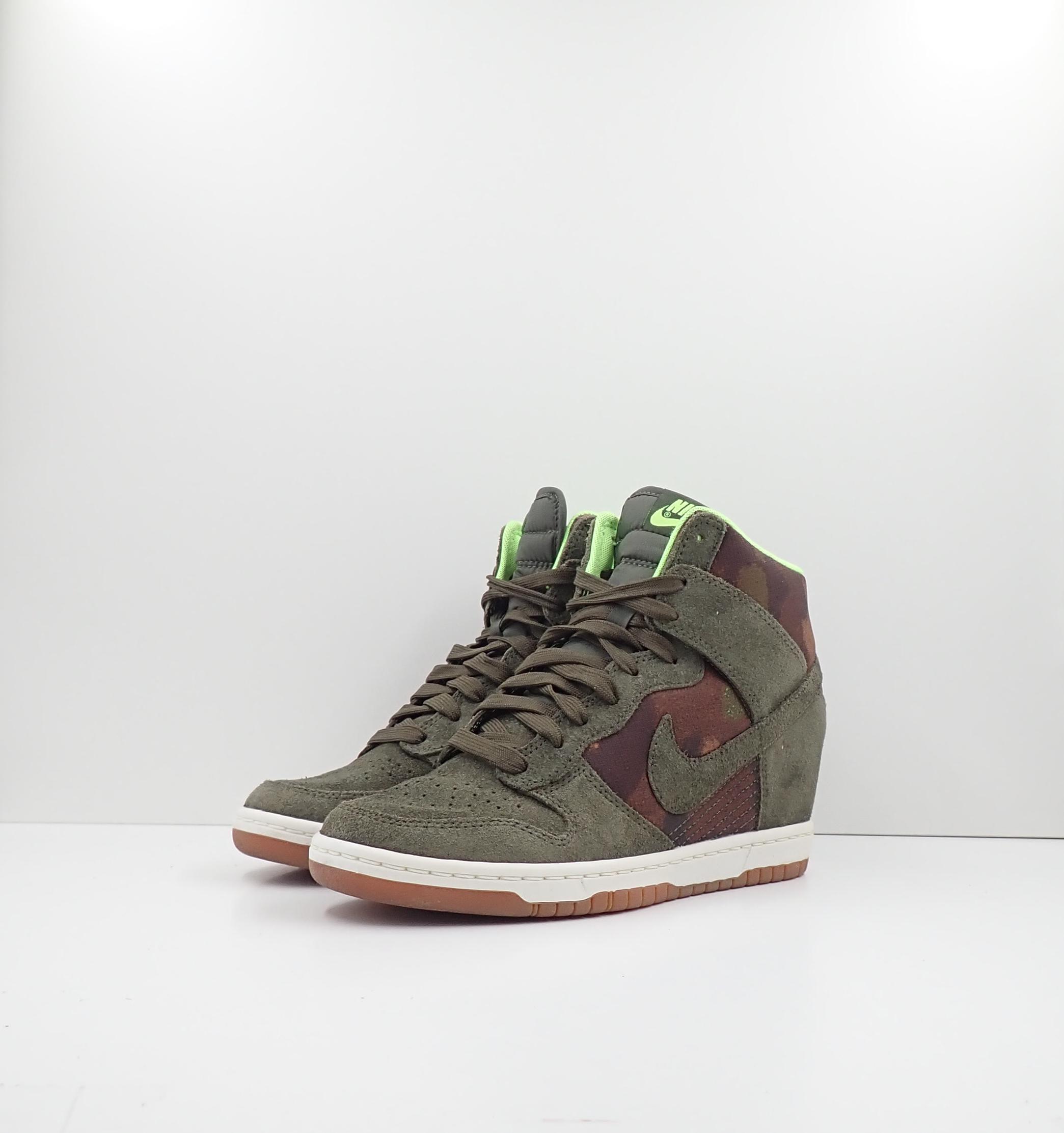 Nike Dunk Hi Sky Wedge Camo (W)