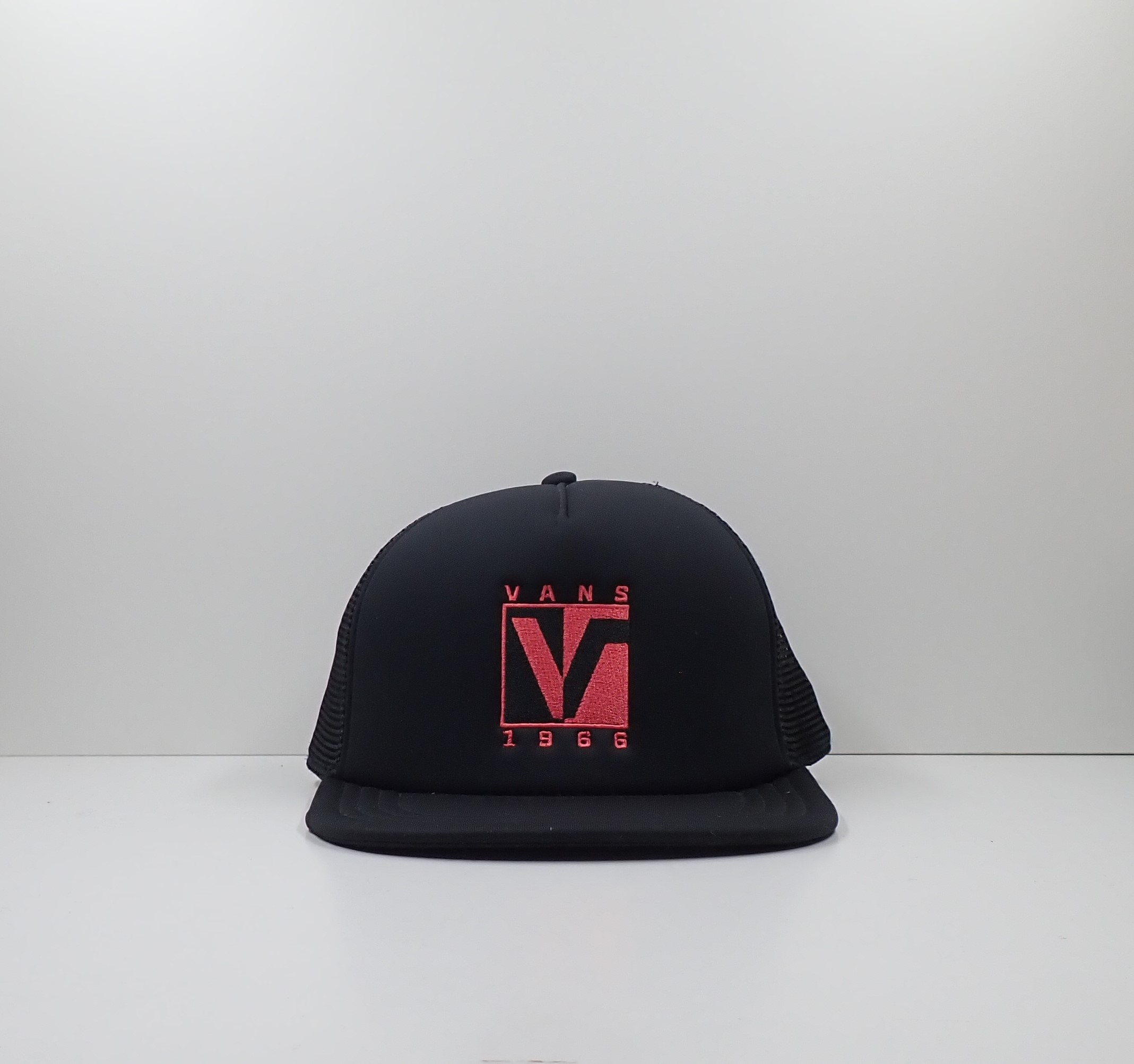 Vans Black Trucker Cap