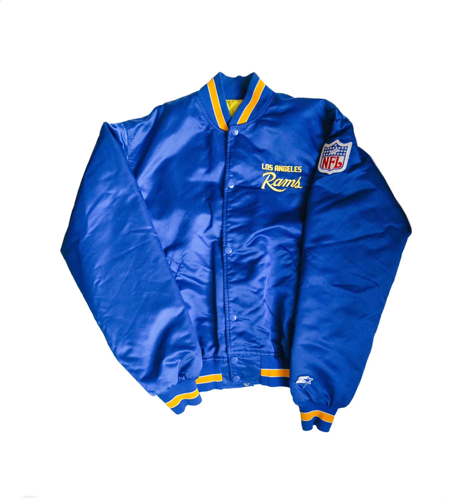 Los Angeles Rams Satin Jacket