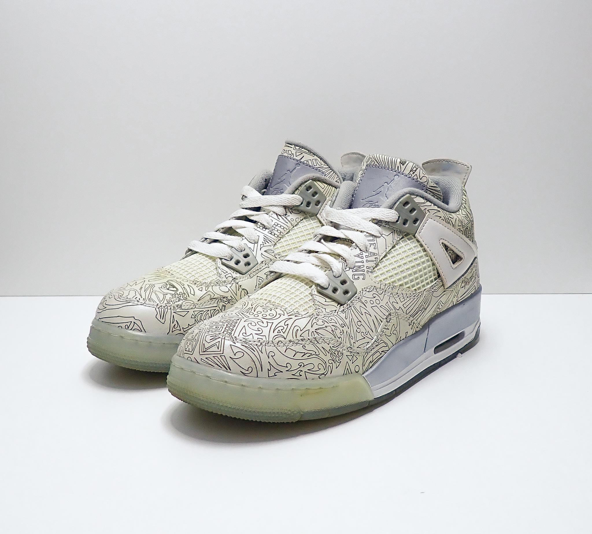 Jordan 4 Retro Laser (GS)