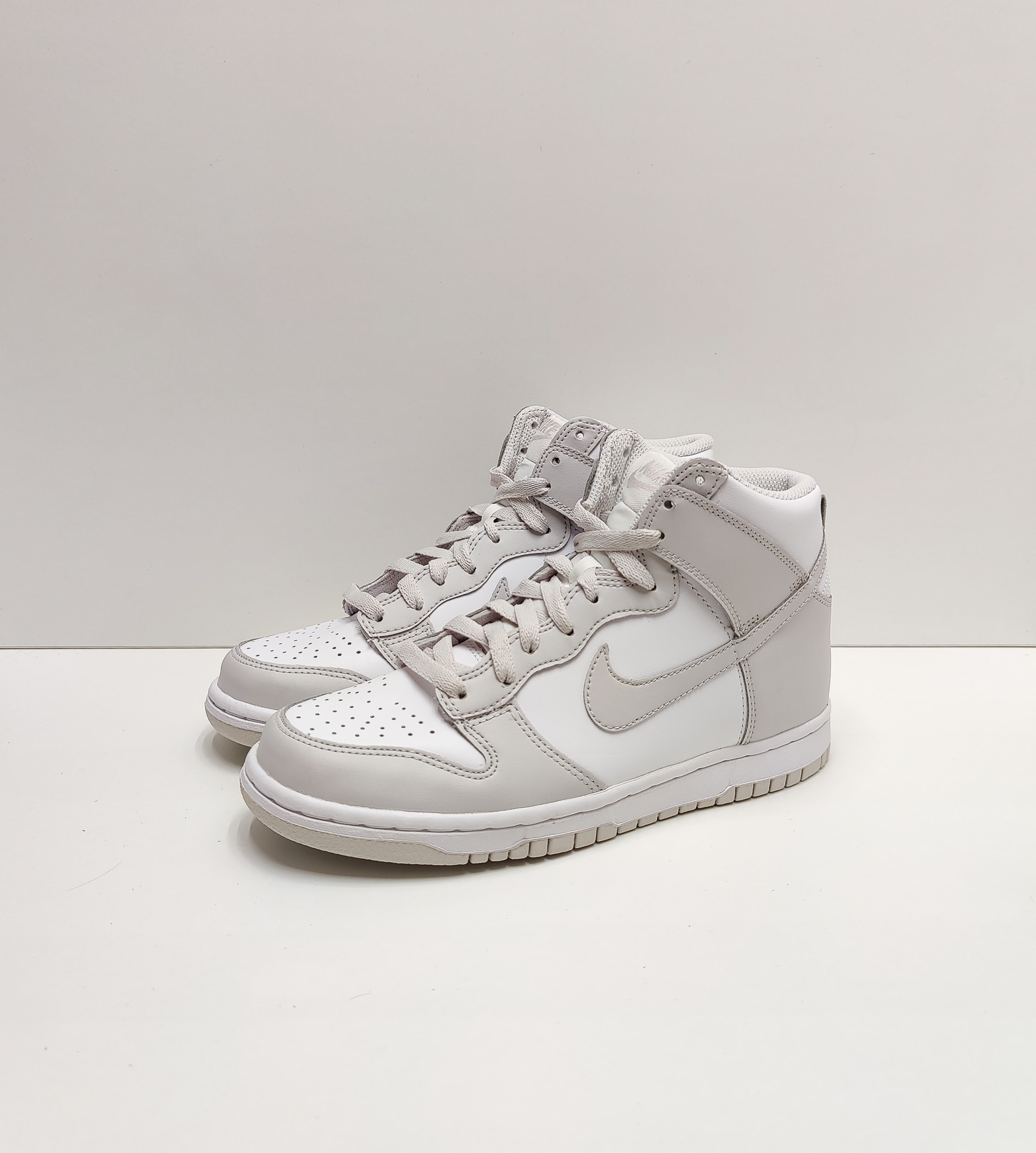 Nike Dunk High Retro White Vast Grey (GS)