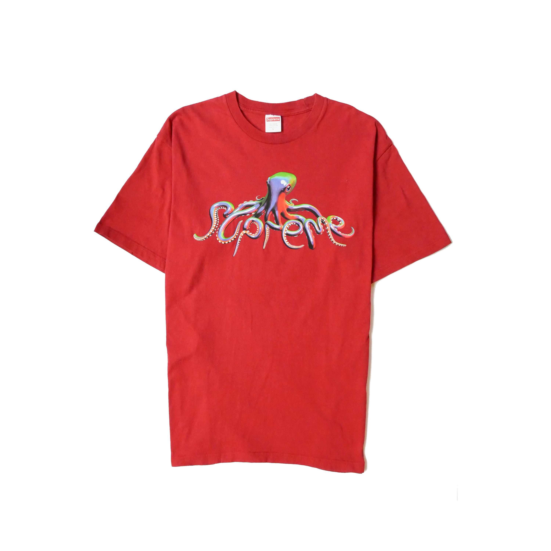 Supreme Squid Logo T Shirt