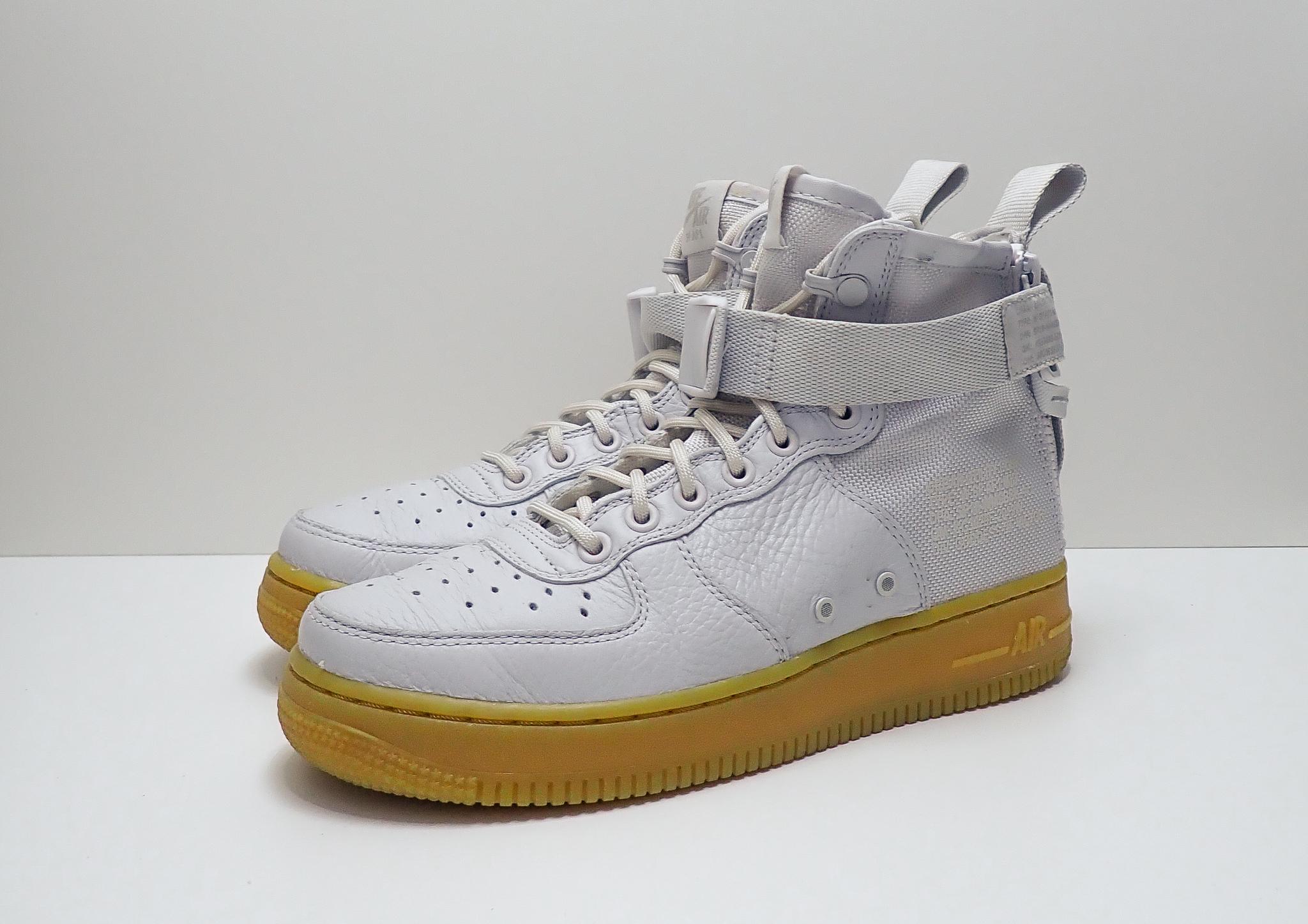 Nike Wmns SF Air Force 1 Mid Vast Grey