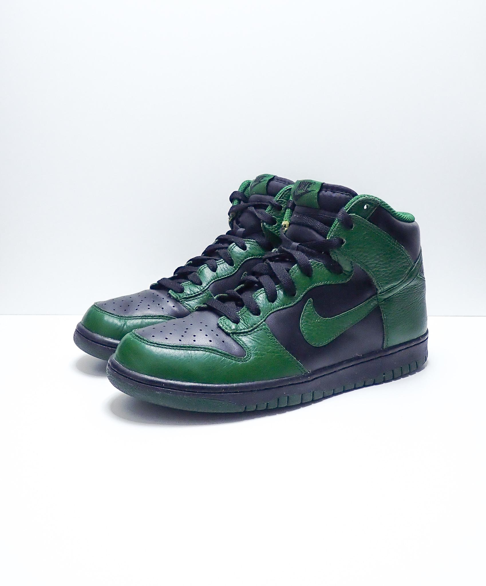 Nike Dunk High Gorge Green Black