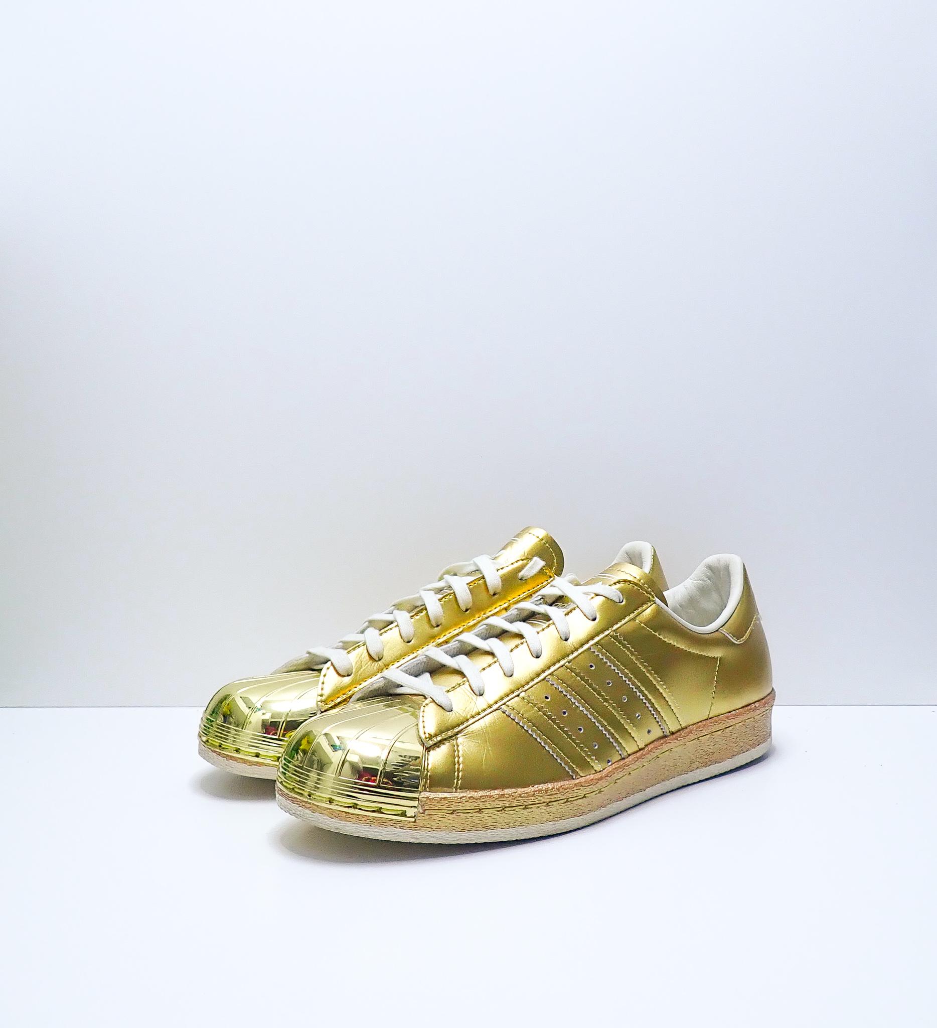 Adidas Superstar 80s Gold