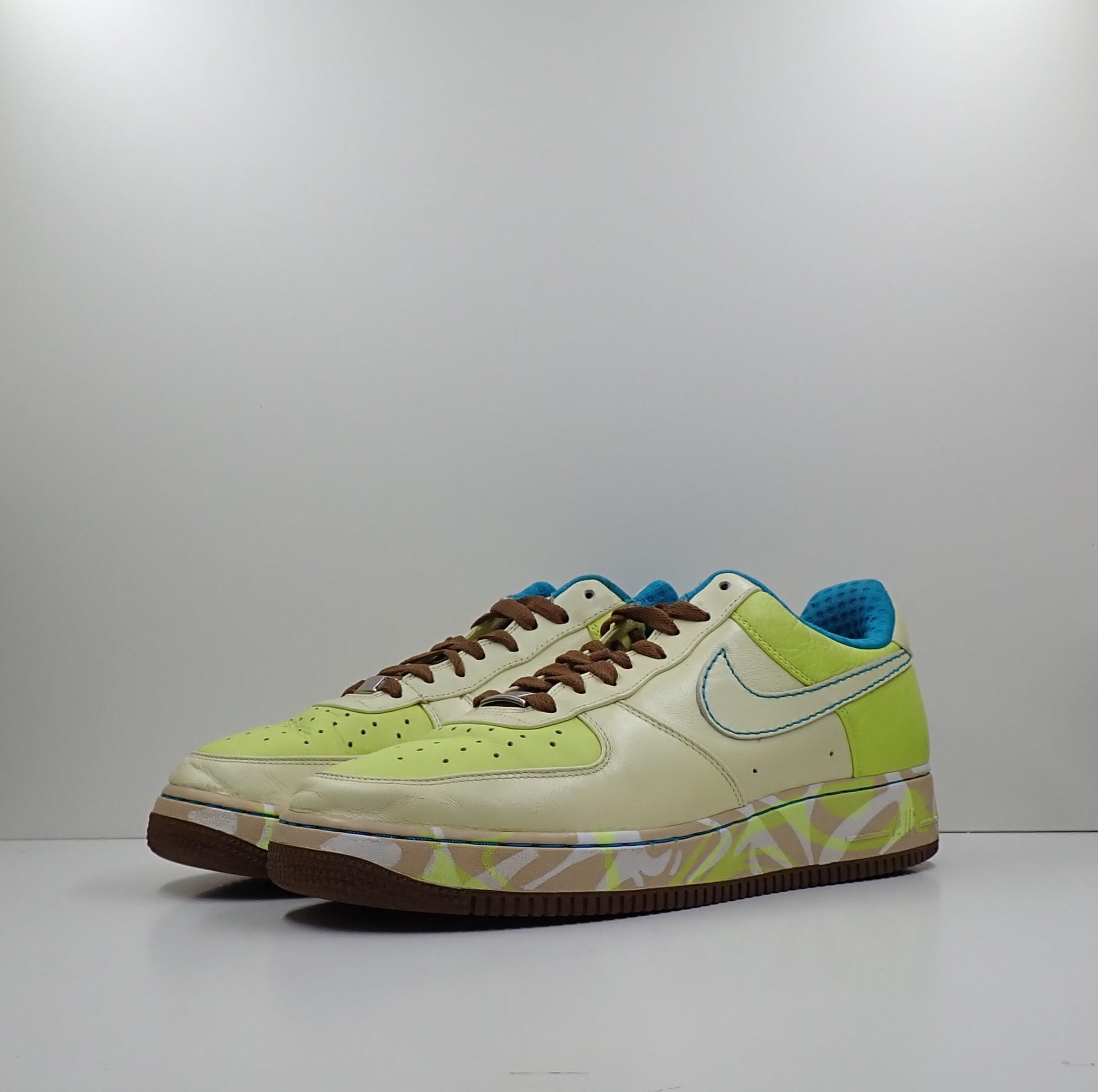 Nike Air Force 1 Premium '07 ' White Lime