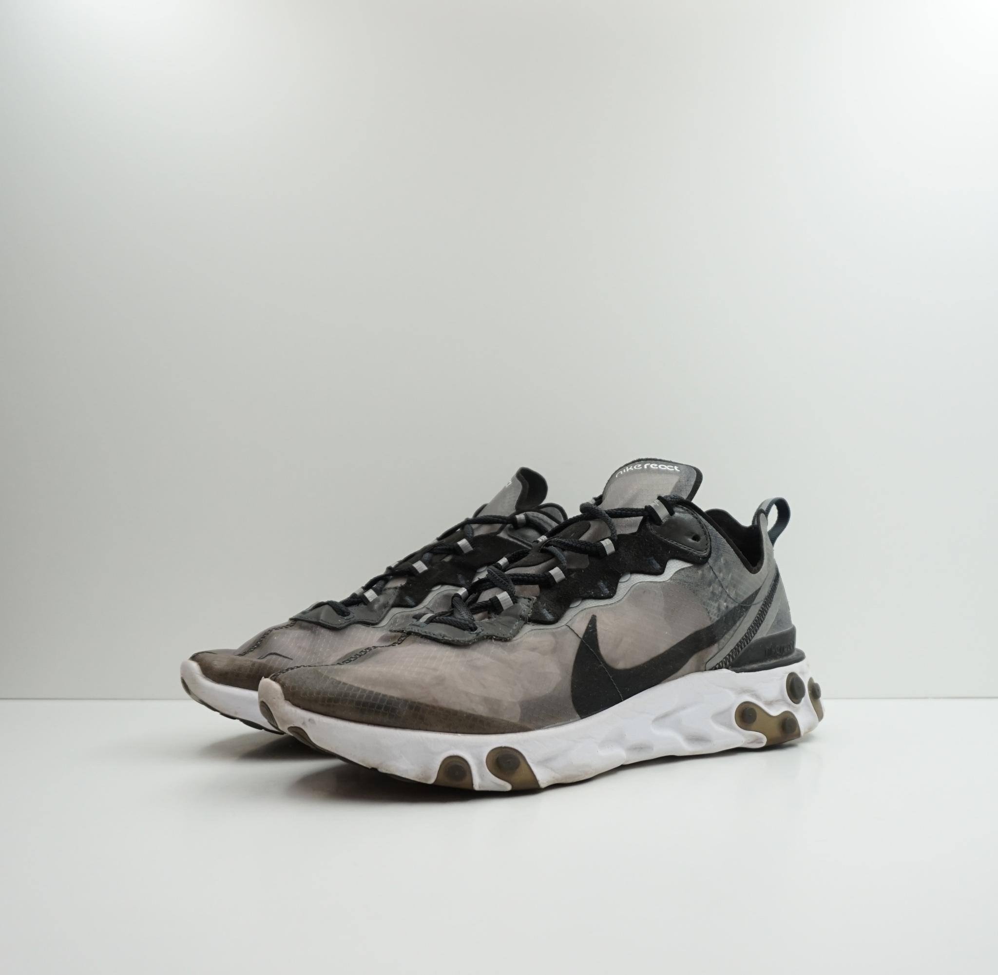 Nike React Element 87 Anthracite Black