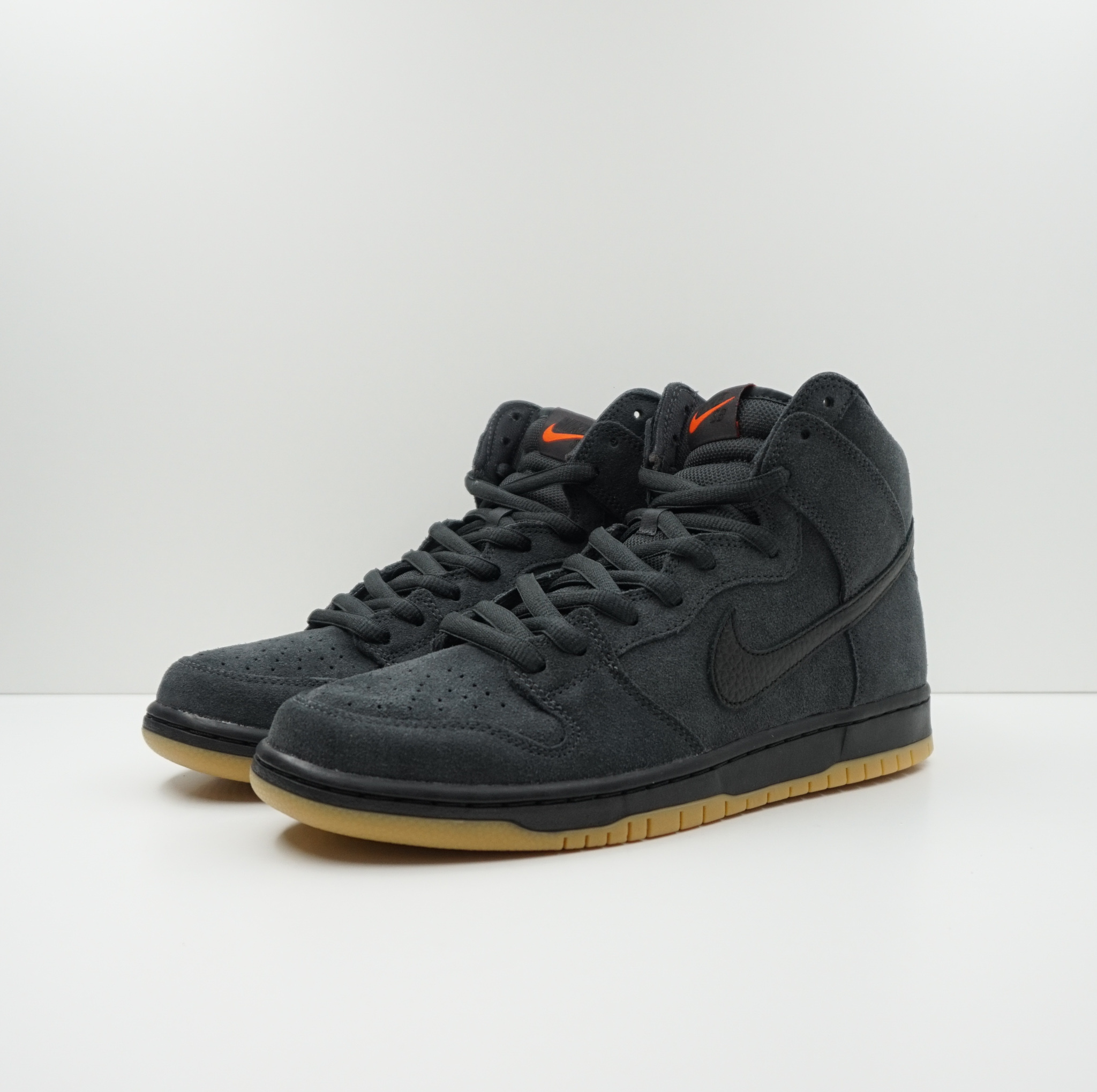Nike SB Dunk High Pro Orange Label Smoke Grey
