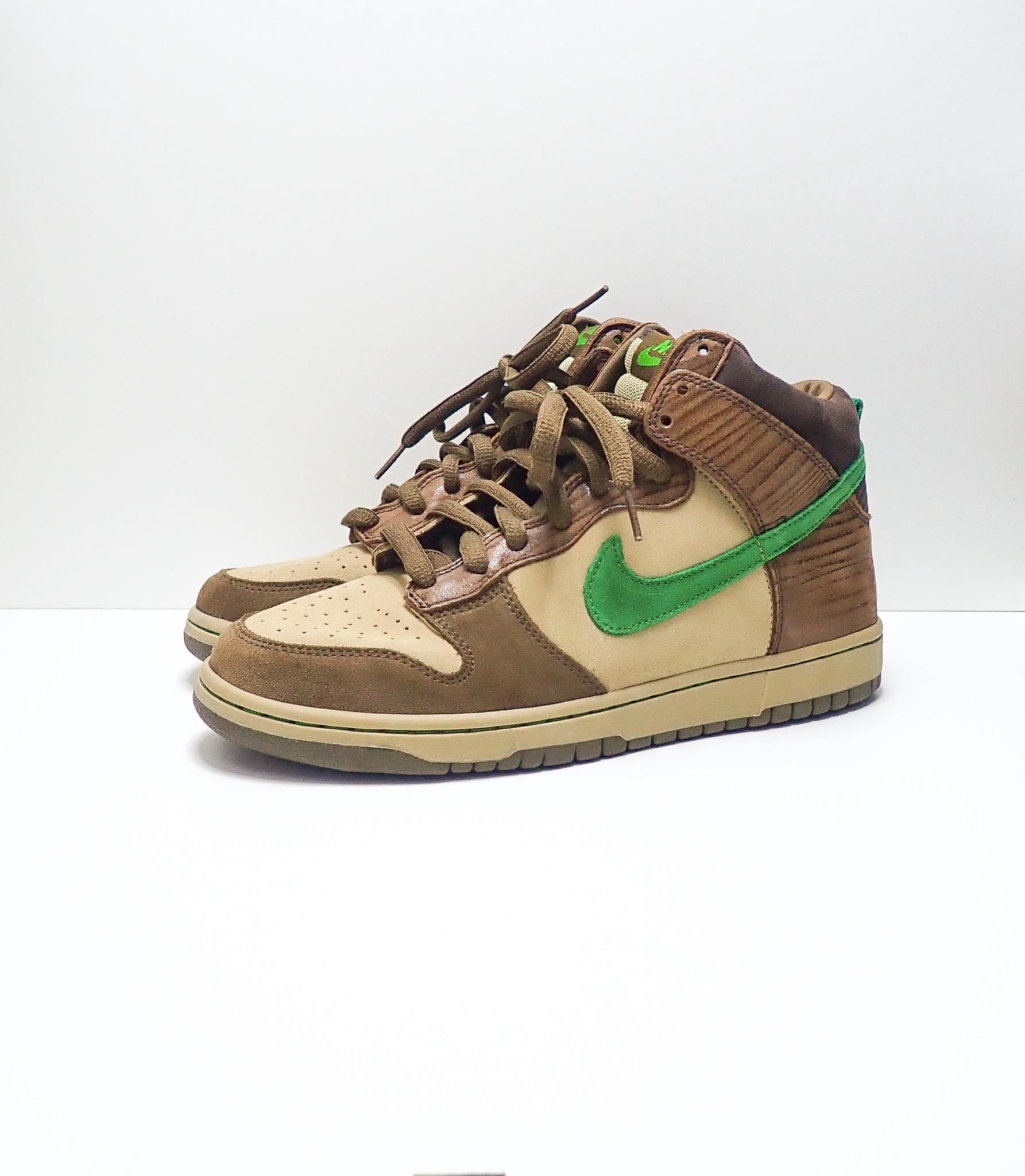 Nike SB Dunk High Wood Deck