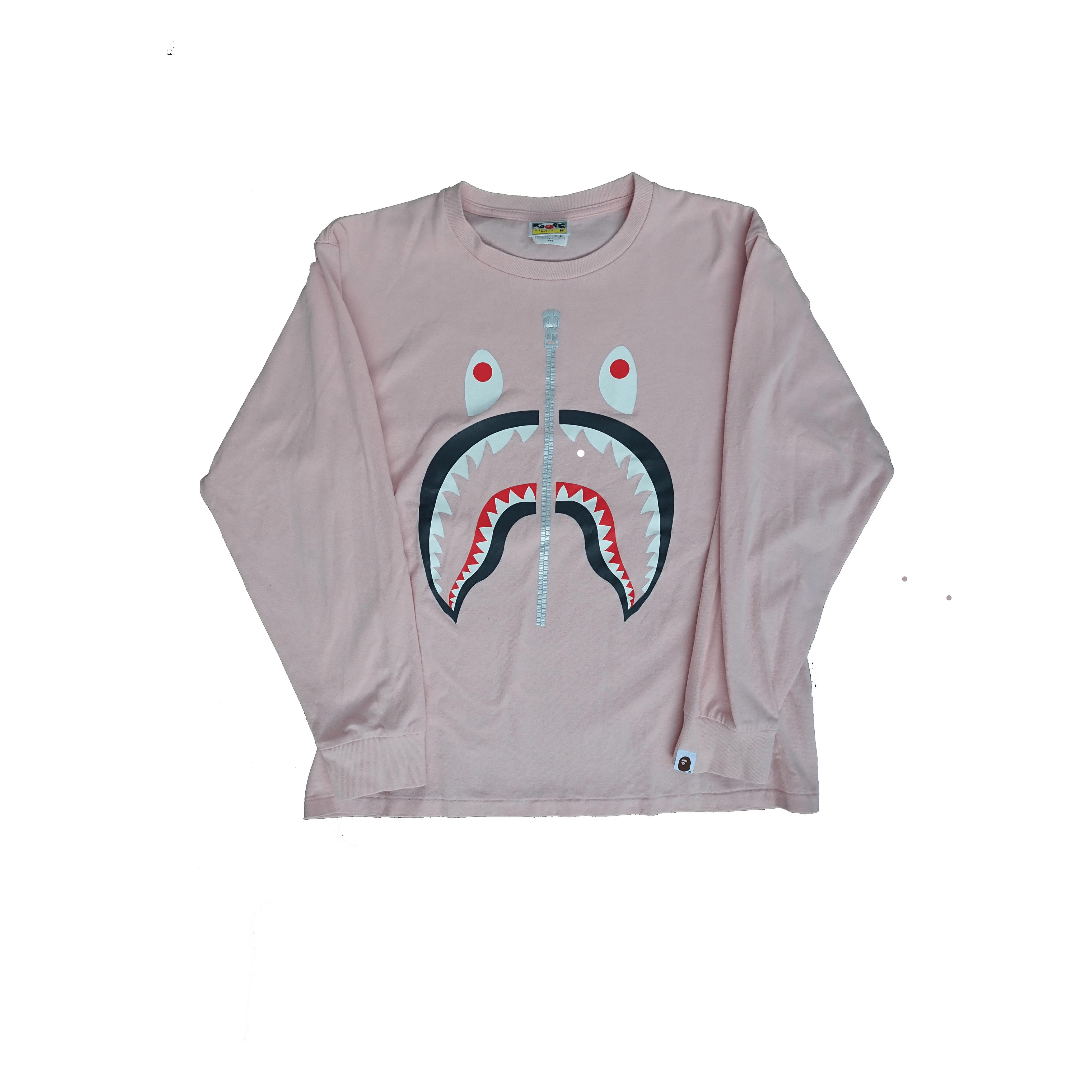Bape Shark Longseeve T Shirt