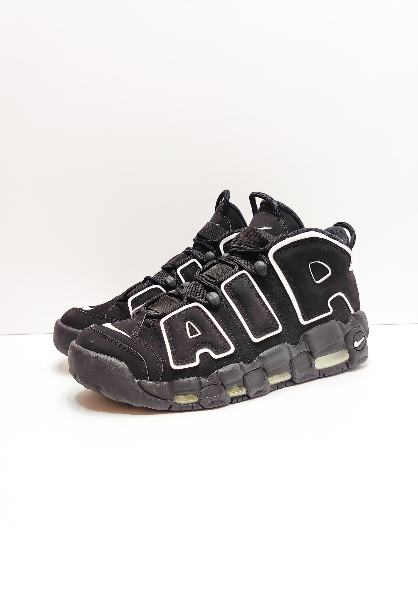 Nike Air More Uptempo Black White (2016/2020)