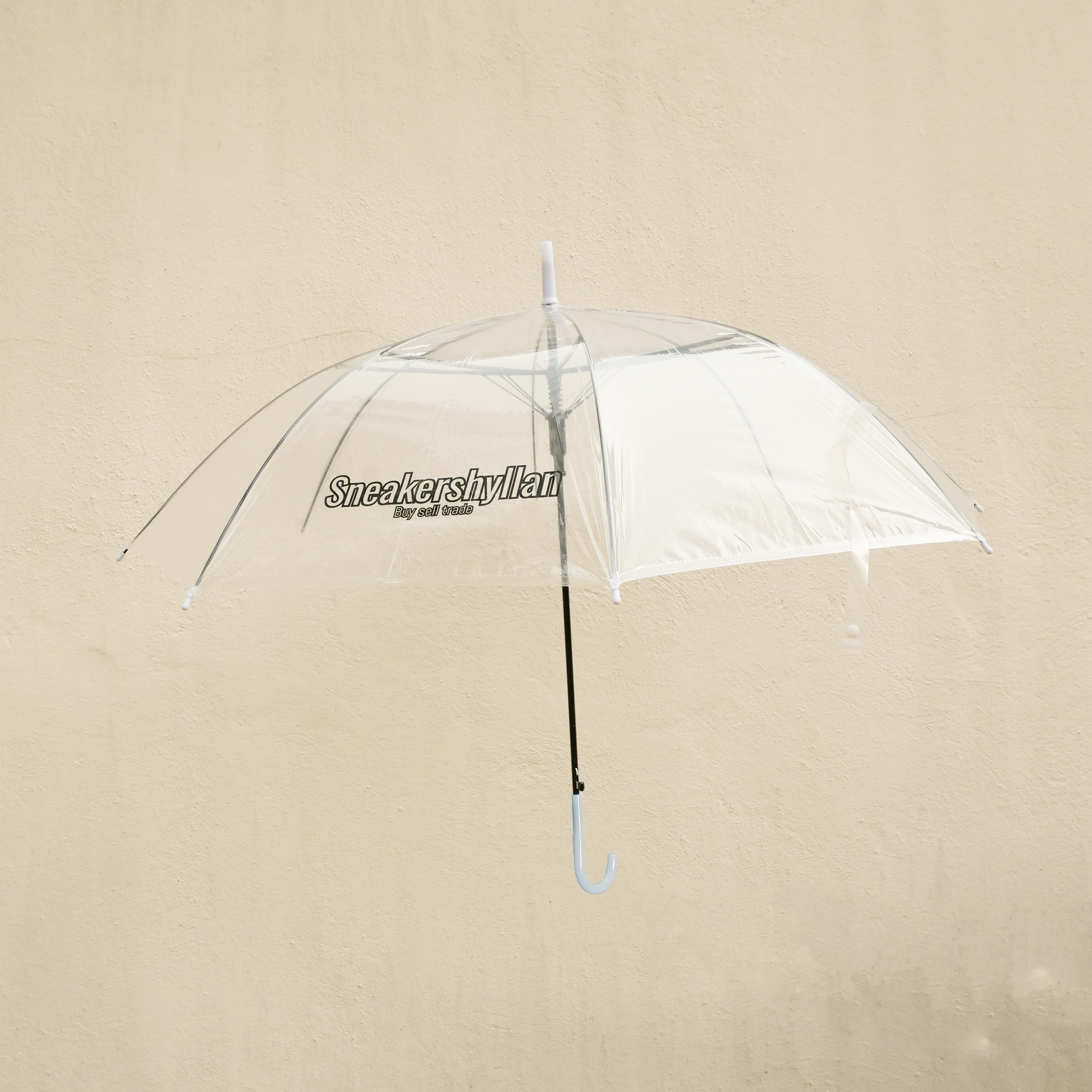 Sneakershyllan Transparent Umbrella