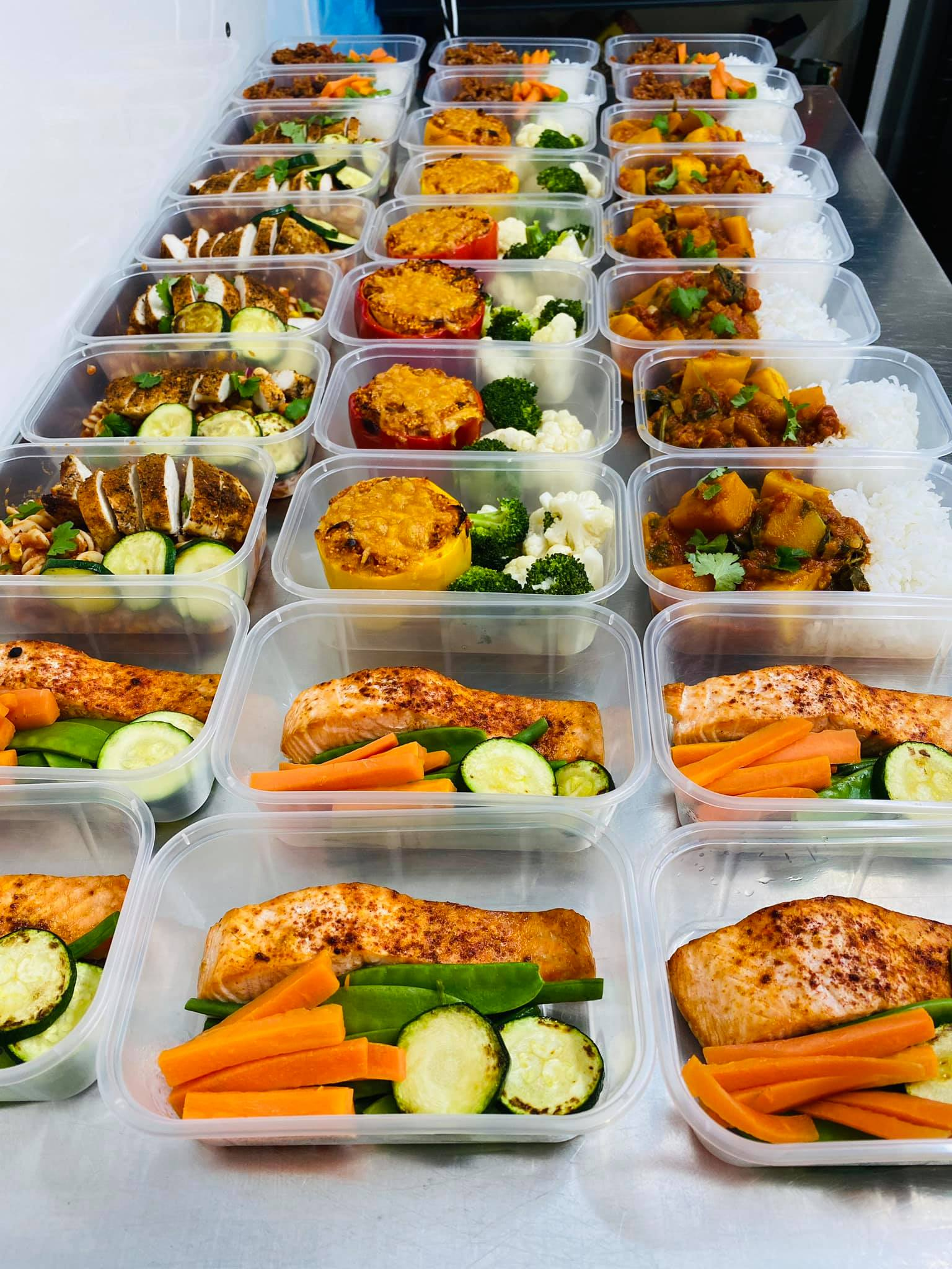 Monday Low Fat Meal Deal (5 Meals)