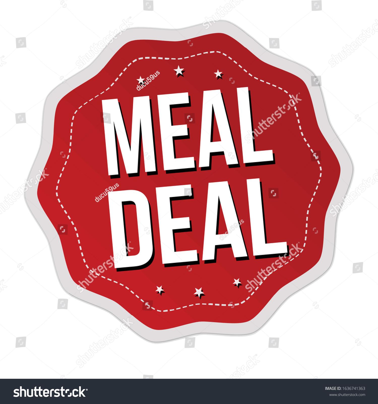 Meal Deal 8 Jan