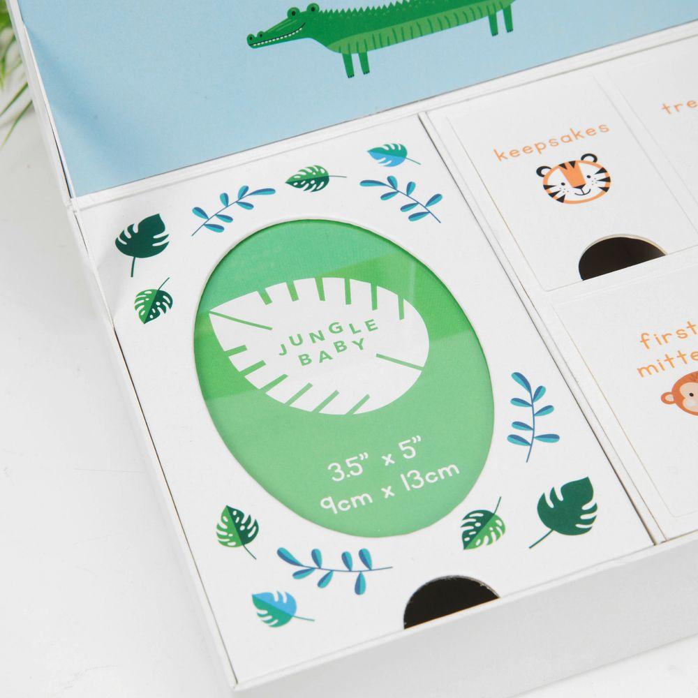 Jungle Baby Paperwrap Keepsake Box