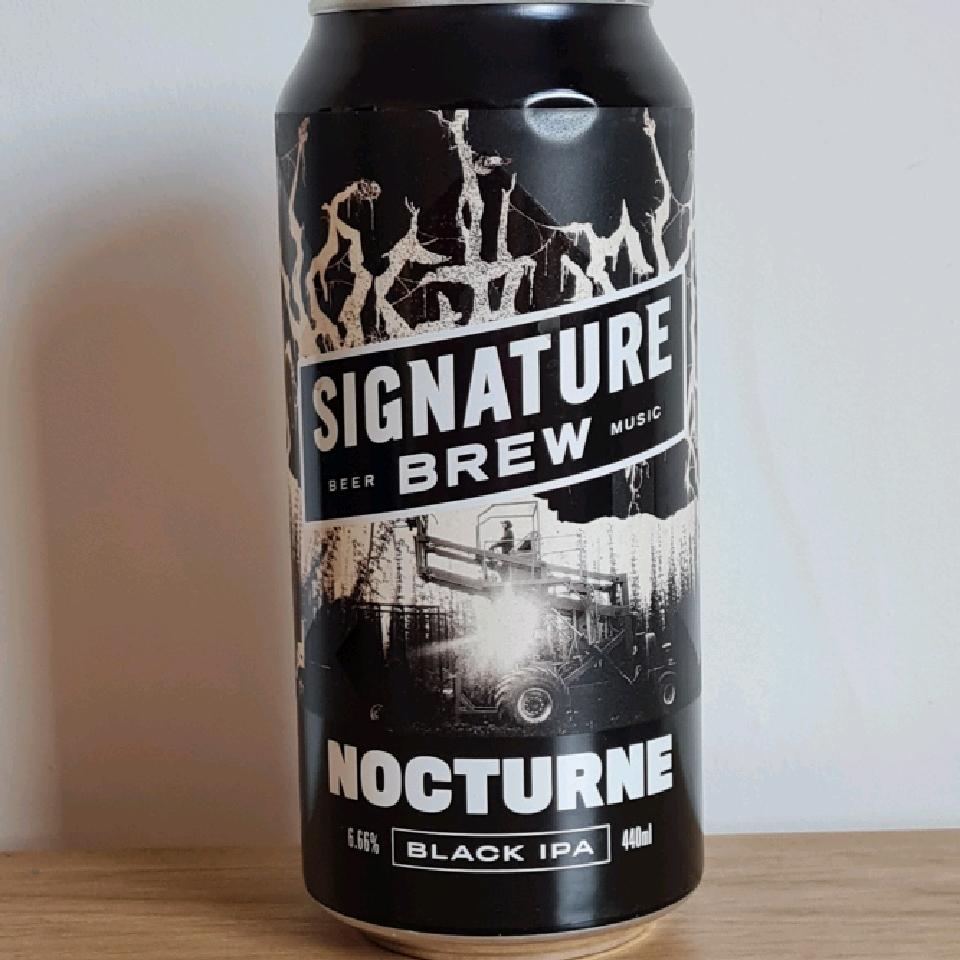 Signature Brewing Nocturne Black IPA