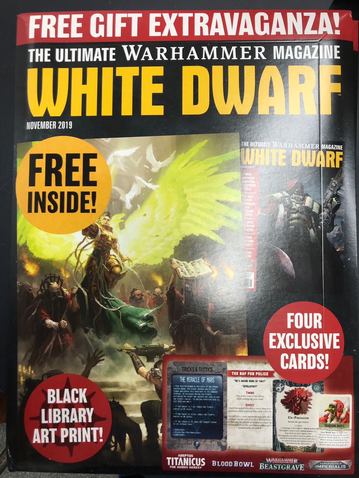 WHITE DWARF: NOVEMBER 2019