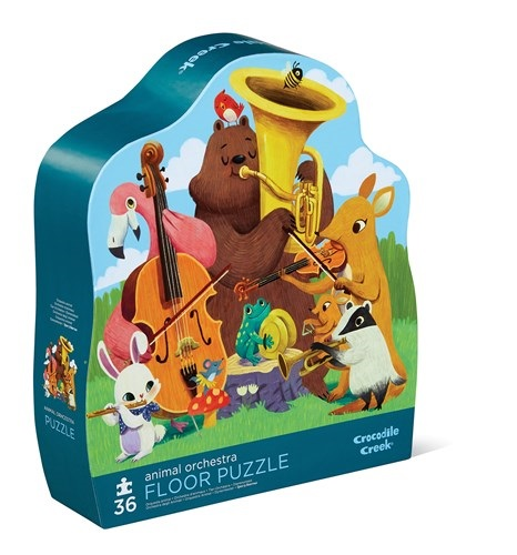 Animal Orchestra36 pc Shaped Puzzle
