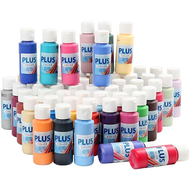 Plus Color Hobbyfärg 60 ml, 1 st