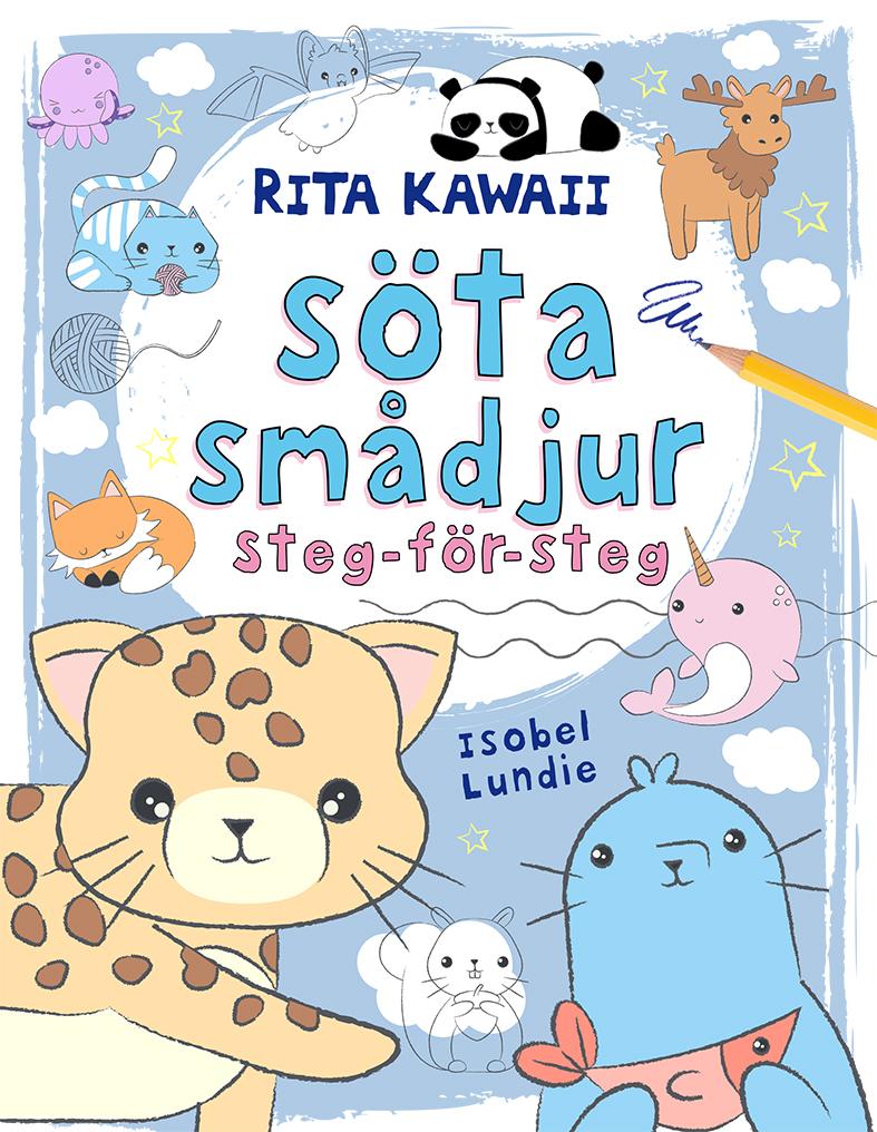 Rita Kawaii söta smådjur - Steg-för-steg