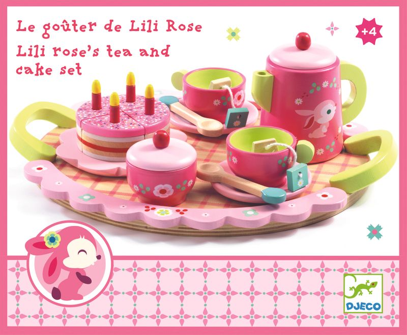 Lili Rose's Tea and Cake Set Djeco