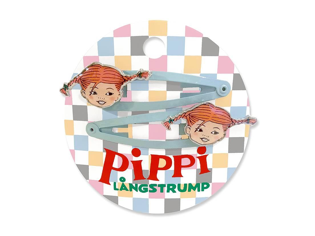 Hårspännen 'Pippi Långstrump'