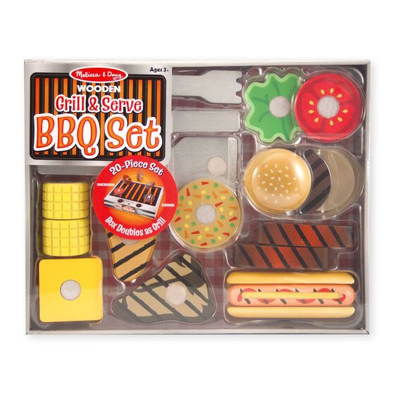Grill and Serve BBQ Set