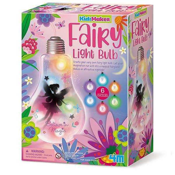 DIY Fairy Light Bulb 4M KidzMaker