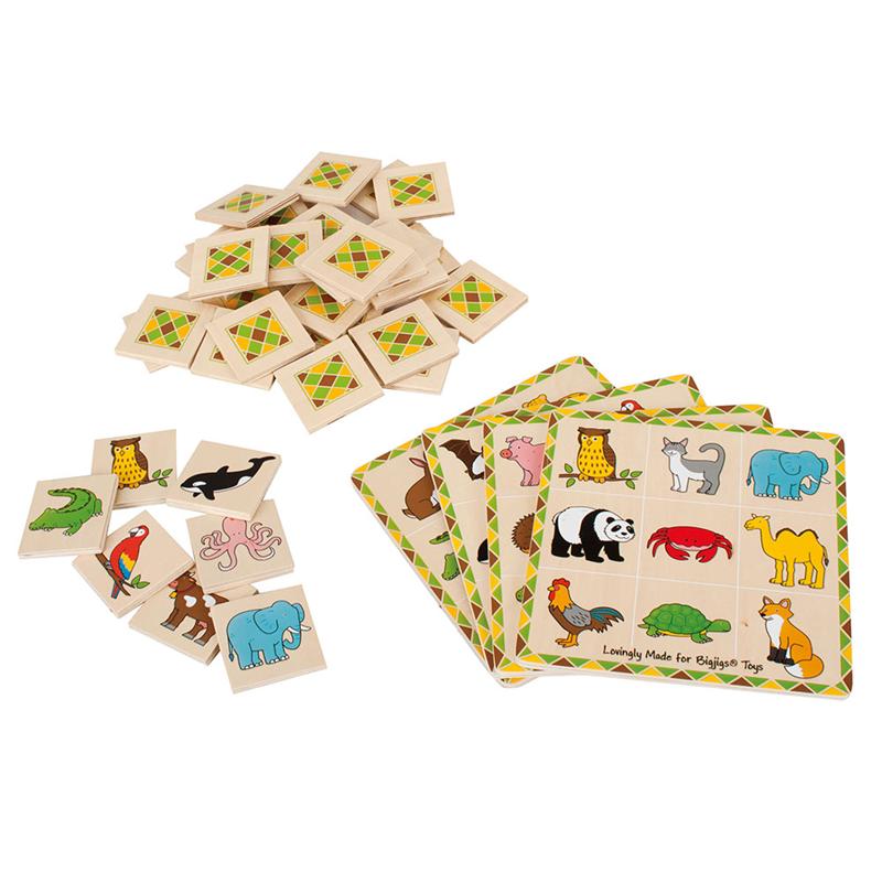 Animal Lotto  BigJigs
