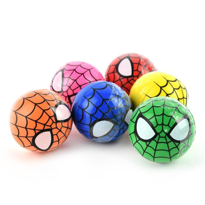 Bouncing Ball Spider Web Studsboll 6 cm